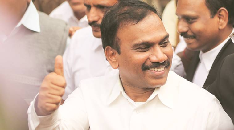 DMK leader A Raja booked for making derogatory remarks against TN CM