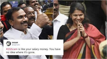 2g scam, 2g scam verdict, a raja, Kanimozhi, 2g case, 2g scam acquitted, 2g scam verdict all acquitted, india news, viral news, indian express