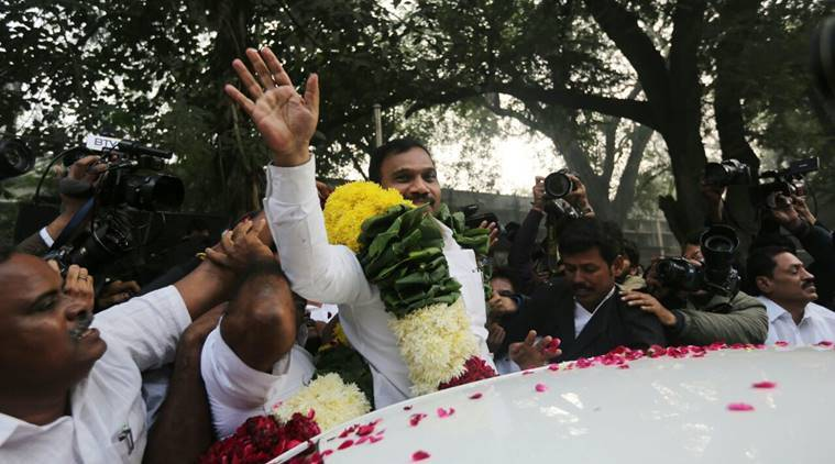 Acquitted in 2G spectrum case, A Raja sayspresumptive loss to exchequer was 'cooked-up'
