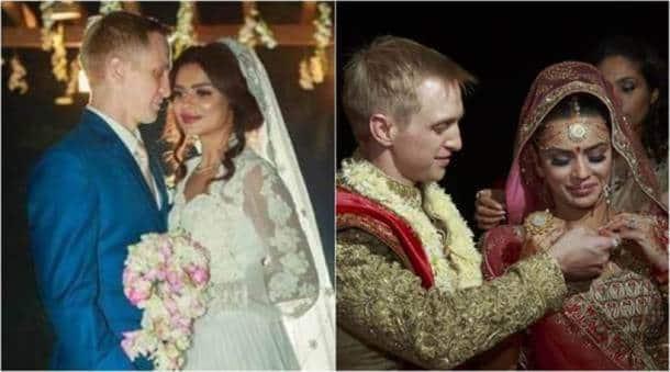 Aashka Goradia weds Brent Goble