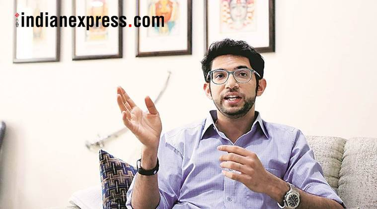 shiv sena, aaditya thackeray, yuva sena, shiv sena maharashtra, nda, bjp, shiv sena latest news, indian express