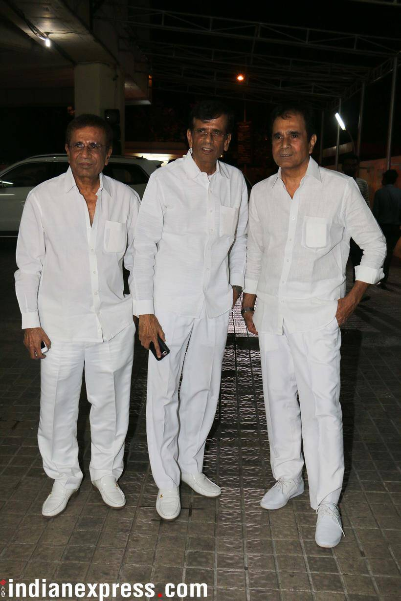 Abbas and Mustan Burmawalla posed for the cameras.