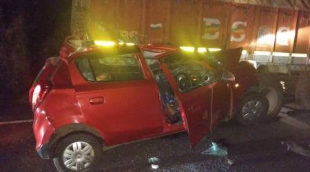 Four killed in car accident inPune
