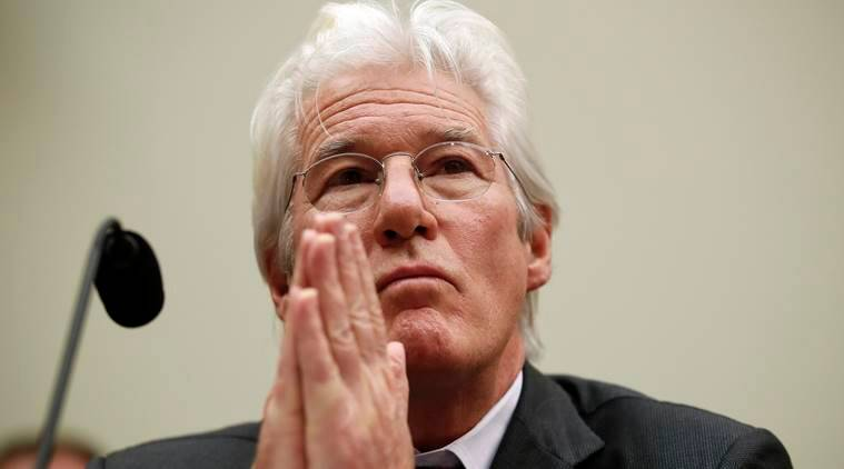 Actor Richard Gere, chairman of the Board of Directors of the International Campaign for Tibet
