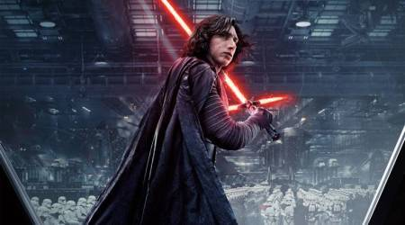 Adam Driver had no qualms stripping off in Star Wars: The Last Jedi