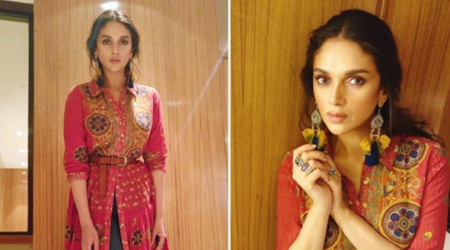 Aditi Rao Hydari's boho fusion look is a great concept, but the execution is disappointing