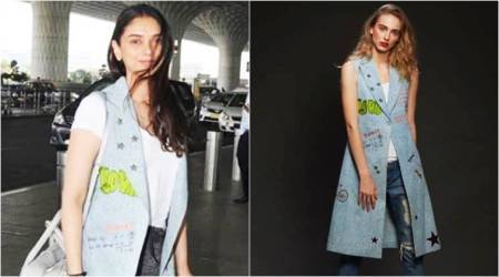 Aditi Rao Hydari's quirky denim jacket is a mood booster