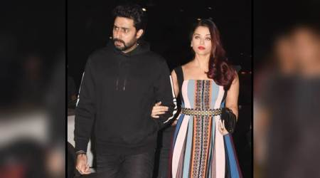 Aishwarya Rai Bachchan's colourful maxi dress is perfect for a date night