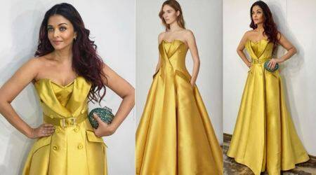 Aishwarya Rai Bachchan looks drop-dead gorgeous in an Alexis Mabille gown