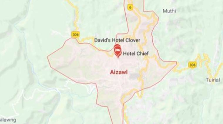 Aizawl truck accident, Mizoram truck accident, Mizoram aizawl truck accident, Hlimen village accident, India News, Indian Express, Indian Express News