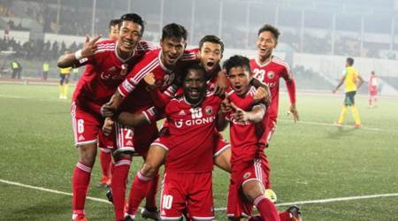 aizawl fc, aizawl fc vs indian arrows, i league, i league fc, football news, indian express