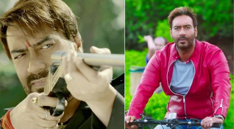 Ajay Devgn starred in Baadshaho and Golmaal Again.