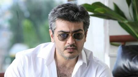 Viswasam actor Ajith flaunts new hairdo