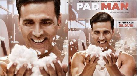 PadMan new poster: Akshay Kumar believes only 'mad become famous', seephoto
