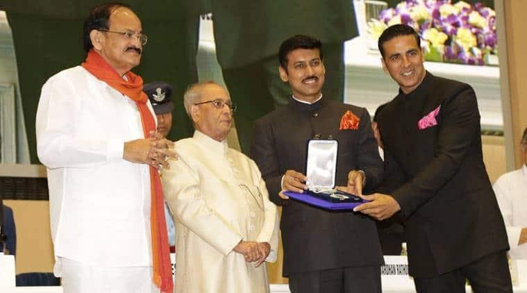 Akshay Kumar won a National Award in 2017.
