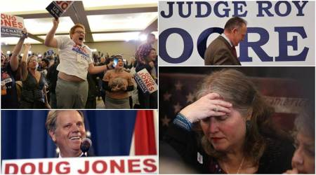 Alabama Senate election: See how supporters reacted after Democrat Doug Jones defeated Republican Roy Moore