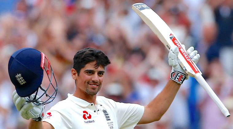 Cook notched up his fifth double ton. (Getty)