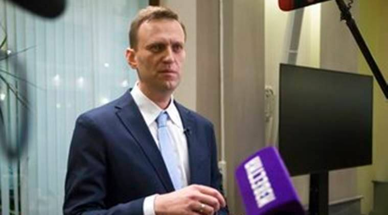 Alexei Navalny files for Russian presidential elections, vladimir putin