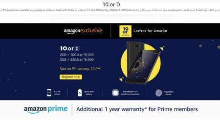 Amazon, Amazon 10or D, Amazon 10or D price in India, Amazon Tenor D Price in India, Amazon 10or sale in india, Amazon 10or D specifications