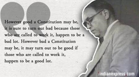 br ambedkar death anniversary, ambedkar indian constitution, ambedkar drafted indian constitution, ambedkar chairperson, ambedkar drafting committee, indian express news