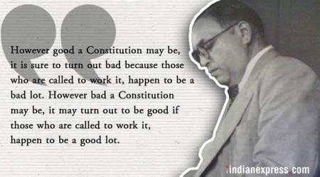 br ambedkar death anniversary, ambedkar indian constitution, ambedkar drafted indian constitution, ambedkar chairperson, ambedkar drafting committee, indian express news