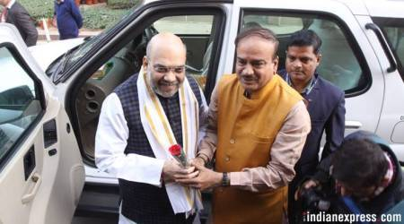 Amit Shah makes Rajya Sabha debut