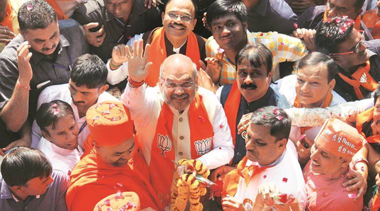 The Gujarat election has become a tough challenge for Narendra Modi, Amit Shah and BJP