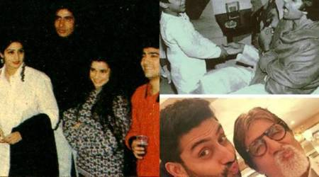 Amitabh Bachchan is in serious throwback mood, shares photos with Sridevi, Salman, Aamir and Abhishek