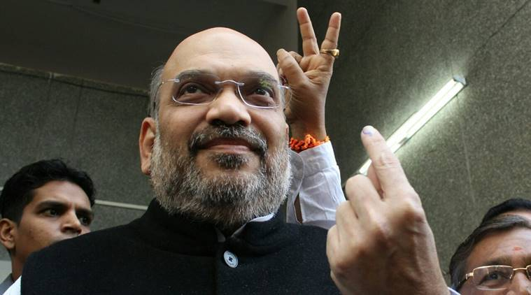 Amit Shah, electoral bonds, election funding, electoral reforms, corruption during elections, indian politics, India news, indian express news