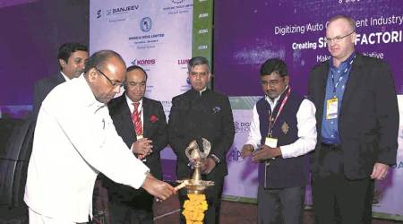 anant geete, heavy industries minister, public sector enterprises minister, make in india, automotice industry, acma, indian express