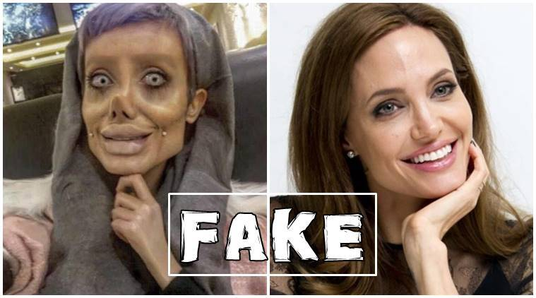 angeline jolie lookalike, angeline jolie copycat, iranian teenager 50 surgeries, angelina jolie lookalike surgery, zombie angelina jolie, fake angeline jolie lookalike, truth behind angelina jolie lookalike, indian express, indian express news