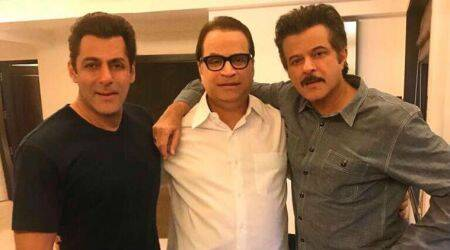 Race 3: Salman Khan welcomes Anil Kapoor on board with a 'jhakas' photo