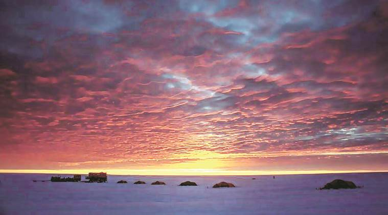 antartica, climate change, global warming, east antartica, south pole, antartica ice, science news, ice sheets, indian express