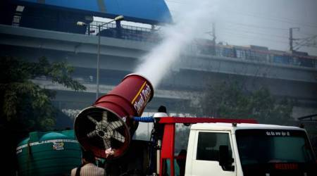 Anti-smog gun fails to shoot down pollution in Delhi