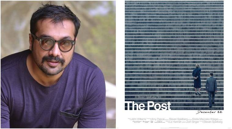 anurag kashyap says steven spielberg's the post is a must watch for indian media