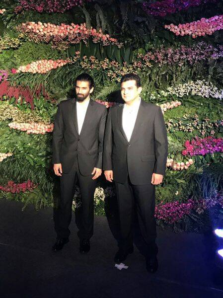sidharth aditya roy kapur virat anushka reception