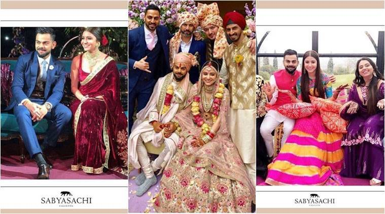 Anushka Sharma – Virat Kohli – Sabyasachi: The designer formula for ...