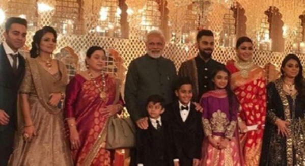 Inside Virat Kohli And Anushka Sharmas Wedding Reception See
