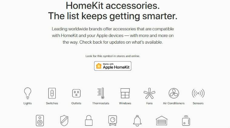 Apple HomeKit, Apple iOS 11.2, smart connected devices, Internet of Things, watchOS, remote control, Siri voice commands, home appliances, HomeKit accessories