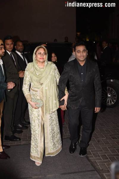 ar rahman virat anushka wedding reception