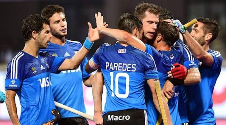 Argentina's men hockey team