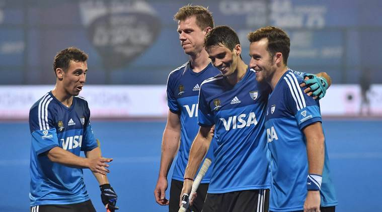 Argentina outwit India in semis