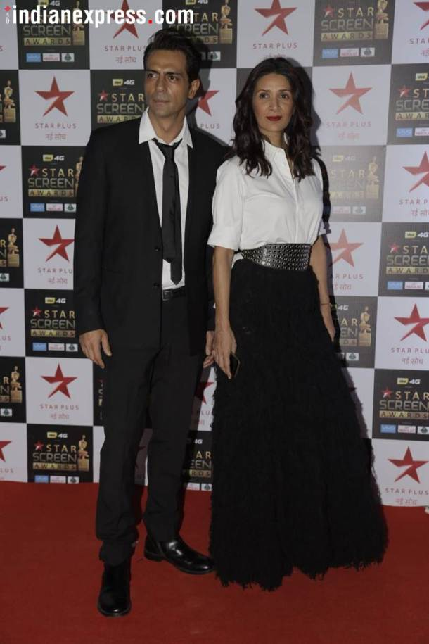 arjun rampal at star screen awards