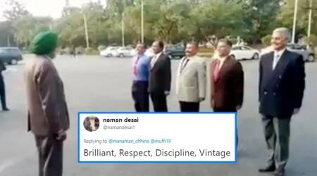 WATCH: Video of Retd Subedar Major instructing 'cadets' at IMA Dehradun reunion has nostalgia marching in