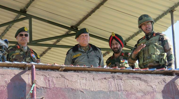 Army Chief Bipin Rawat visits J-K, reviews security situation