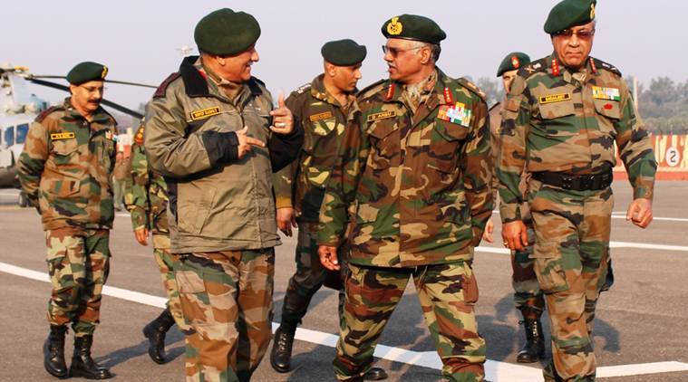 Army chief exhorts troops to be 'ever ready'