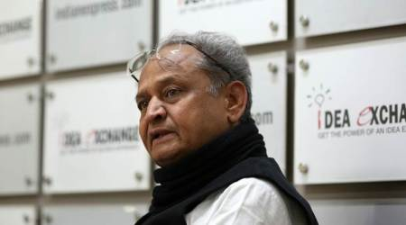 Vasundhara Raje has no moral right to stay in power, says Ashok Gehlot