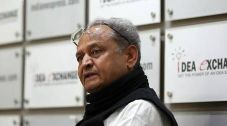Ashok Gehlot calls Vasundhara Raje's poll campaign 'helicopter yatra'