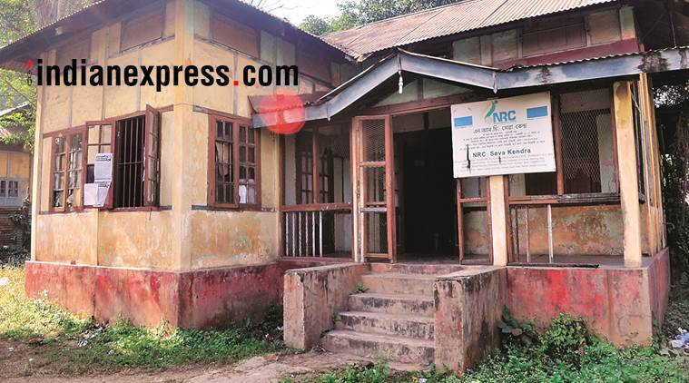 assam, nrc, national register of citizens, indians in assam, nrc sewa kendra, north east news, army in assam for nrc, indian express