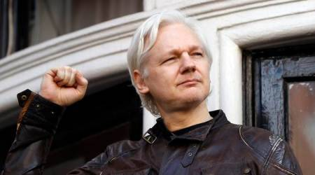 Julian Assange, Julian Assange twitter account, Assange twitter account, Julian Assange twitter, Assange twitter, twitter account of Julian Assange, twitter Assange, world news, latest world news, indian express, indian express news